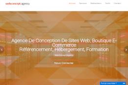 Agence de Conception de Sites Web, Boutique E-Commerce, Référencement, Hébergement, formation