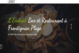 L'Endroit, BAR et Restaurant à Frontignan Plage