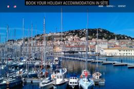 Site de Location Saisonnière de Logements à Sète et Frontignan Plage